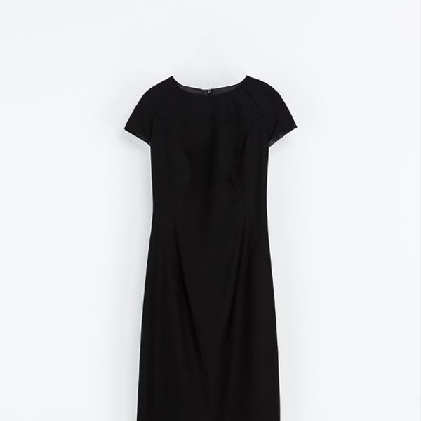 Zara  Light Wool Tube Dress