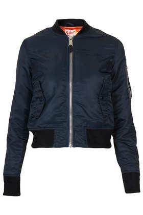 Topshop  Schott NYC Bomber Jacket