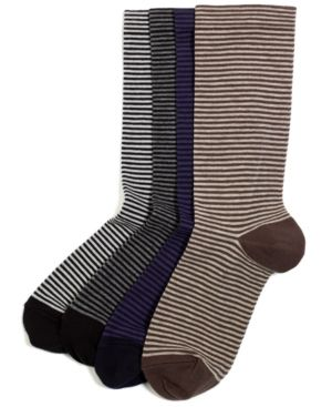 Hue  Hue Socks in Mini Stripe