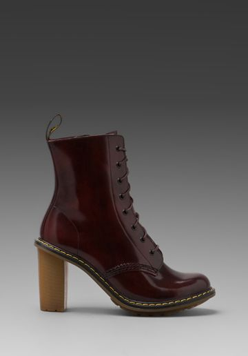 Dr. Martens  Saidie 8-Tie Boots