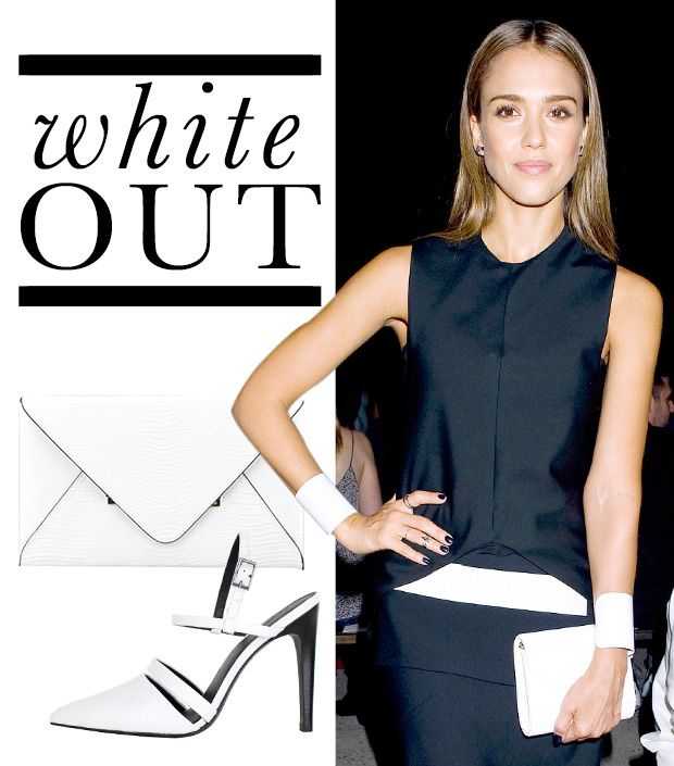 How to Wear White Accessories Into Fall