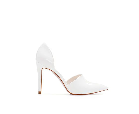 Zara  Pointed Court Shoes