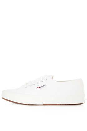 Superga  Canvas Laceup Trainers