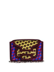 Pierre Hardy  Pierre Hardy Multi Cube Print Shoulder Bag