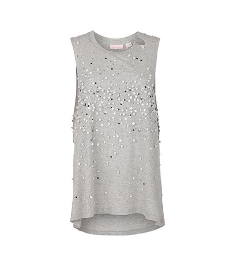 So Perfect For Me embellished tank, $290