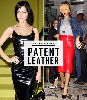 Patent Leather: It's Not Just For Shoes!