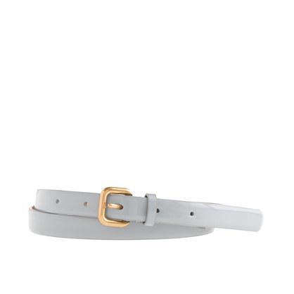 J.Crew Slim Patent Belt   J.Crew Slim Patent Belt