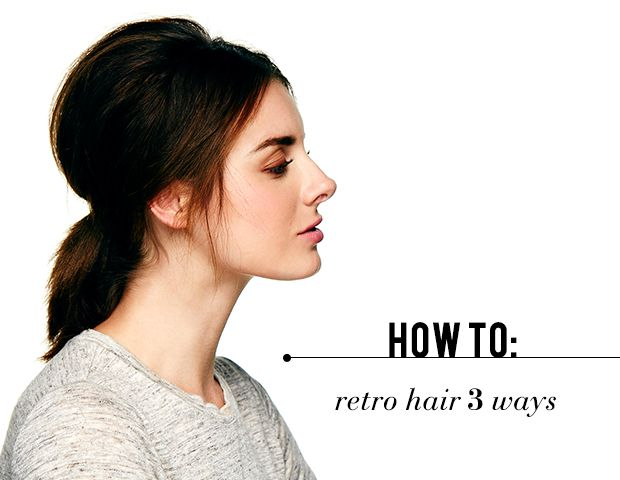 How To: Retro-Inspired Hair To Try Now