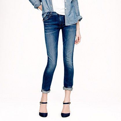 Goldsign for J.Crew  Jenny Selvedge Jeans
