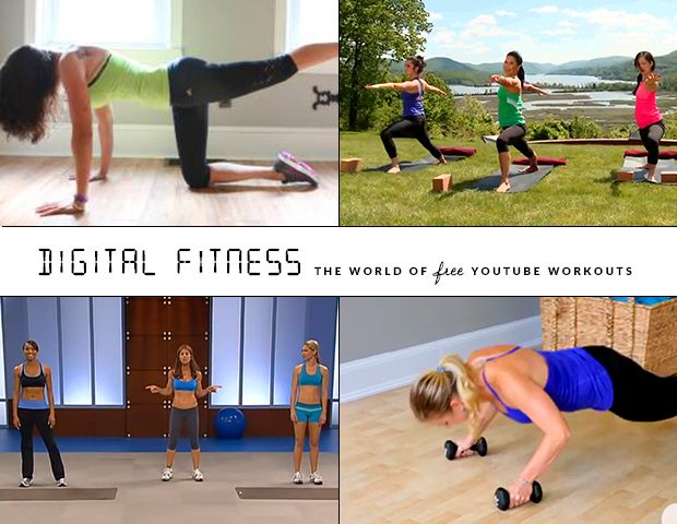 From Abs to Yoga, 10 of The Best YouTube Fitness Videos