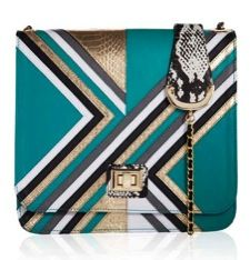 Angel Jackson Angel Jackson Disco Chevron Satchel