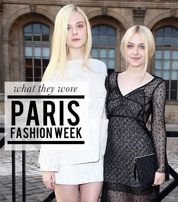 What Katy Perry, Miranda Kerr, and More Wore to Paris Fashion Week