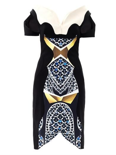 Peter Pilotto   Peter Pilotto Vera Marble-Print Dress