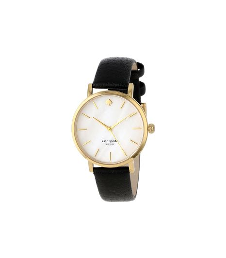 Kate Spade New York Metro Round Goldtone Watch
