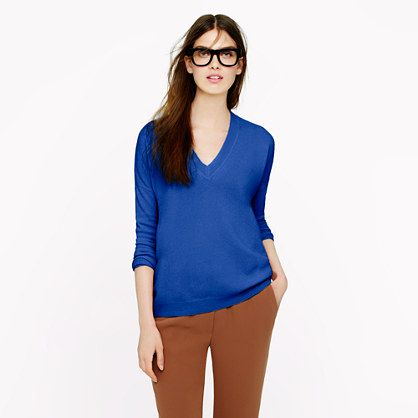 J.Crew  Collection Cashmere Boyfriend Sweater