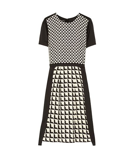 By Malene Birger Bianta Printed Crepe Dress