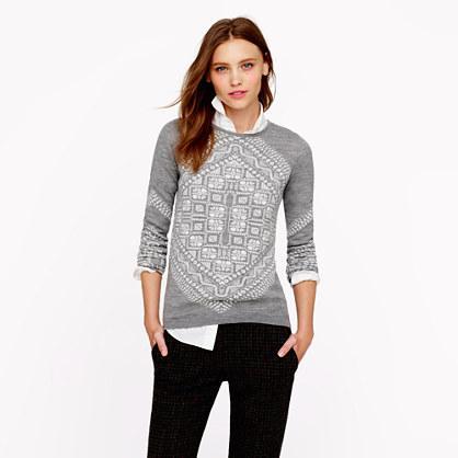 J.Crew  Merino Scarf Sweater