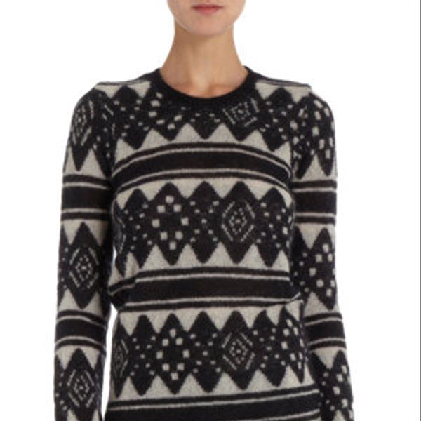 Etoile Isabel Marant  Striped Argyle Sweater