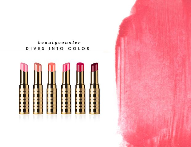 Beautycounter's New Lip Sheers