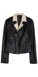 Joie  Joie Ailey E Leather Jacket