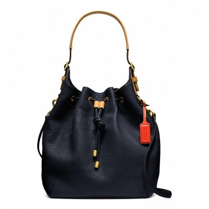 Coach  Coach Soft Legacy Drawstring Shoulder Bag