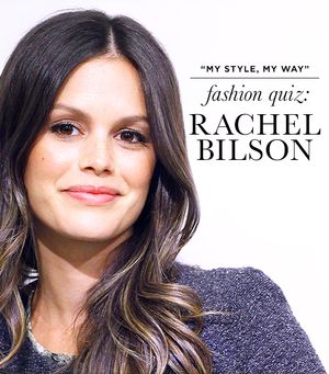 Rachel Bilson Takes Our Fashion Quiz: Read The Surprising Results