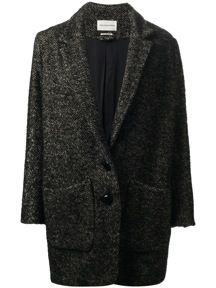 Etoile Isabel Marant  Dulci Herringbone Coat
