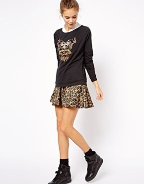 River Island   River Island Embellished Dragon Sweater