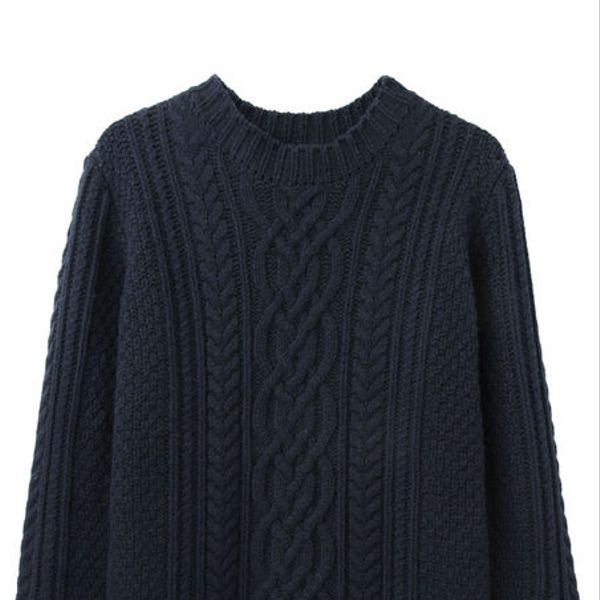 Steven Alan  Steven Alan Cable Knit Sweater