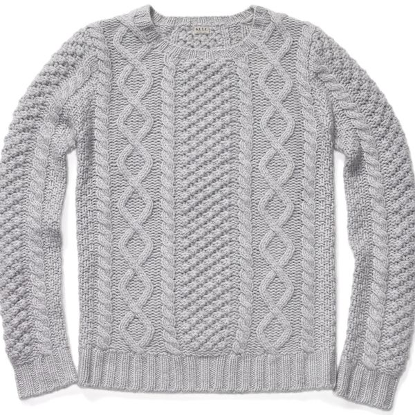 Kule   Kule Scottie Cashmere Fisherman's Sweater