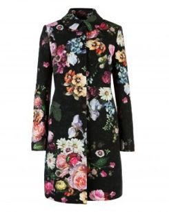 Ted Baker  Ted Baker Melmedy Oil Painting Coat