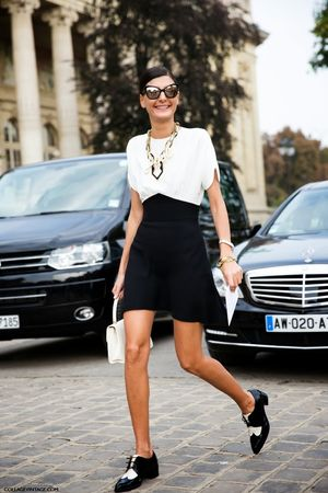 Street Style: Two-Tone Oxfords