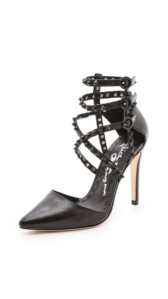 alice + olivia Drixa Strappy d'Orsay Pumps