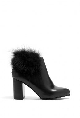 See By Chloe  Winter Fur Trim Ankle Boots