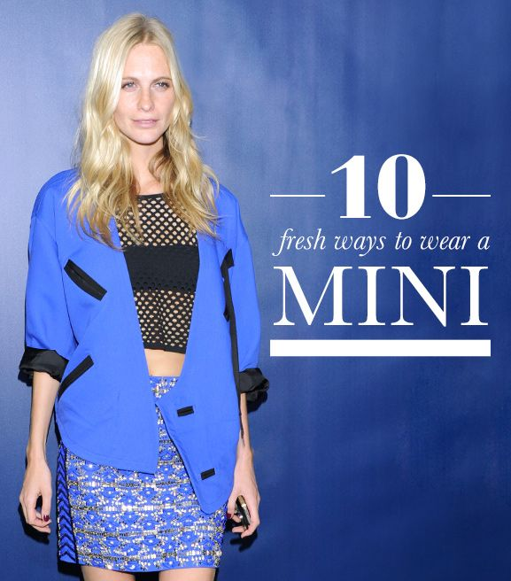 10 Fresh Ways to Wear a Mini Skirt