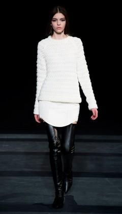 Tibi  Tibi Katrin Quilting Paneled Skirt