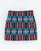Zara   Zara Patterned Mini Skirt