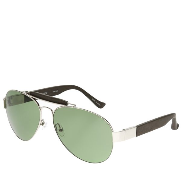The Row by Linda Farrow  Metal Aviator Sunglasses
