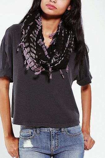 Urban Outfitters  Tie Dye Eternity Scarf