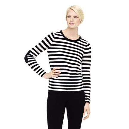 Club Monaco  Club Monaco Nari Striped Merino Sweater