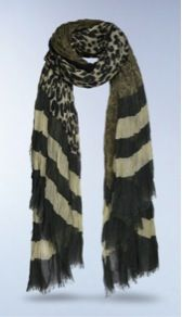 Louis Vuitton  Louis Vuitton Leopard V Stole Scarf
