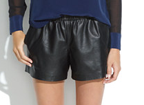 Madewell Leather Shorts