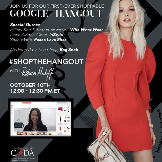 Join Us For Our First-Ever Shoppable Google Hangout