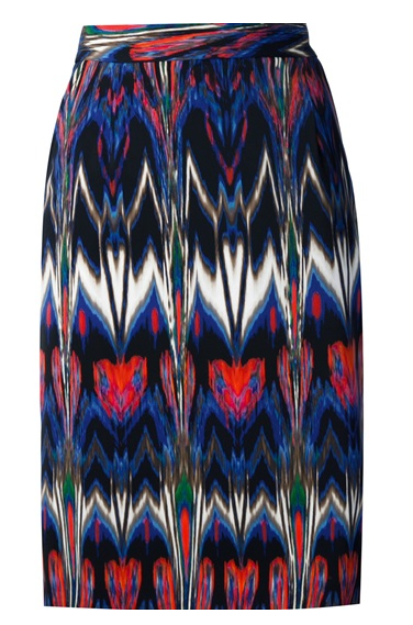 M Missoni Kaleidoscopic Printed Pencil Skirt