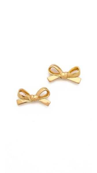 Kate Spade Kate Spade Skinny Mini Bow Stud Earrings