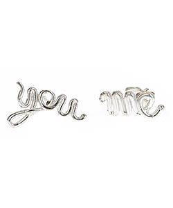 Tina Tang   Tina Tang You and Me Stud Earrings