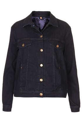 Topshop  Indigo Western Denim Jacket