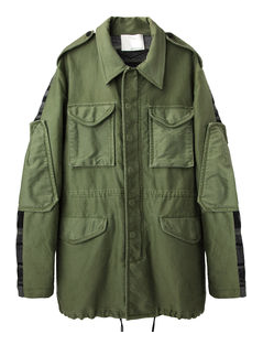 3.1 Phillip Lim  Knit Back Anorak