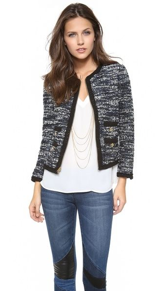 Juicy Couture  Clara Tweed Jacket