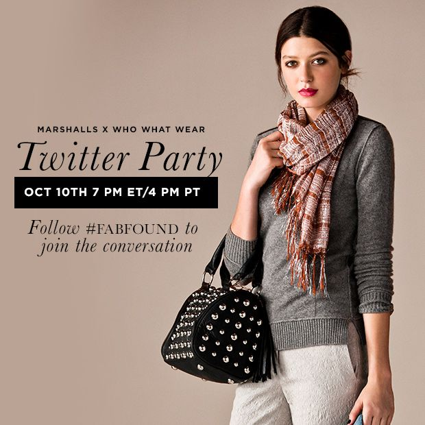 Marshalls x Who What Wear Twitter Party